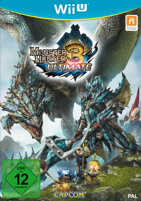 monster Hunter 3 Ultimate (English) (WiiU)