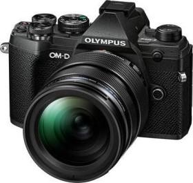 Olympus OM-D E-M5 Mark III schwarz mit Objektiv M.Zuiko digital ED 12-40mm 2.8 PRO (V207090BE020)