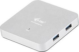 i-tec USB-Hub, 4x USB-A 3.0, USB-B 3.0 [Buchse] (U3HUBMETAL4)