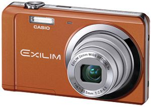 Casio Exilim EX-ZS5 orange