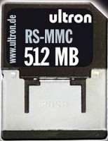 Ultron MultiMedia Card (RS-MMC) Reduced Size  512MB (23077)