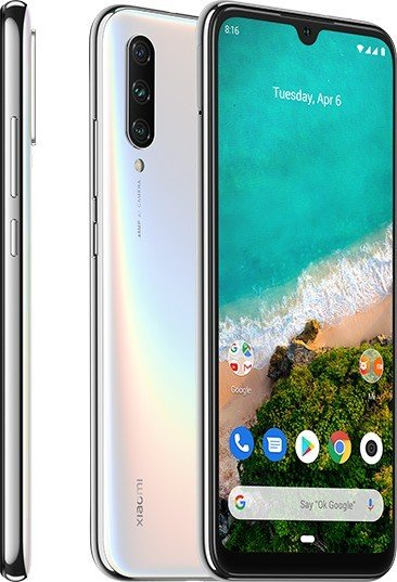 Xiaomi Mi A3 64GB more than white