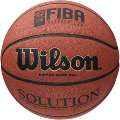 Wilson Solution Game Basketball (B0616X) -- via Amazon Partnerprogramm