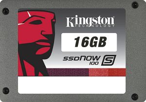 "Kingston SSDNow S100 16GB, 2.5"", SATA II (SS100S2/16G)"