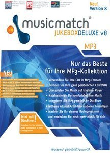 MediaGold Musicmatch Jukebox DeLuxe 8.0 (PC)