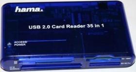 Hama 35in1 Multi-Slot-Cardreader, USB 2.0 Micro-B [Buchse] (55348)