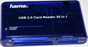 Hama 35in1 Cardreader, USB 2.0 (55348) -- © bepixelung.org