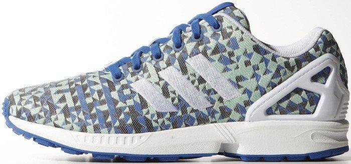 reputable site 0603e bb057 adidas ZX Flux Weave blue/ftwr white/core black (men) (B34474) from £ 218.24