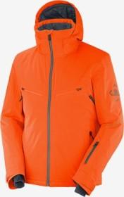Salomon Brilliant Skijacke red orange/ebony (Herren) (C13994)