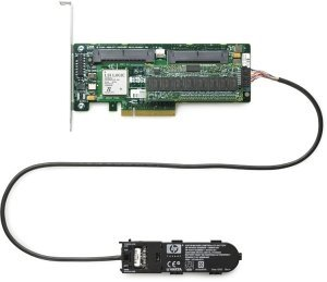 HP Smart Array P400/512 passive cooled with BBU, PCIe x8 (508833-B21)