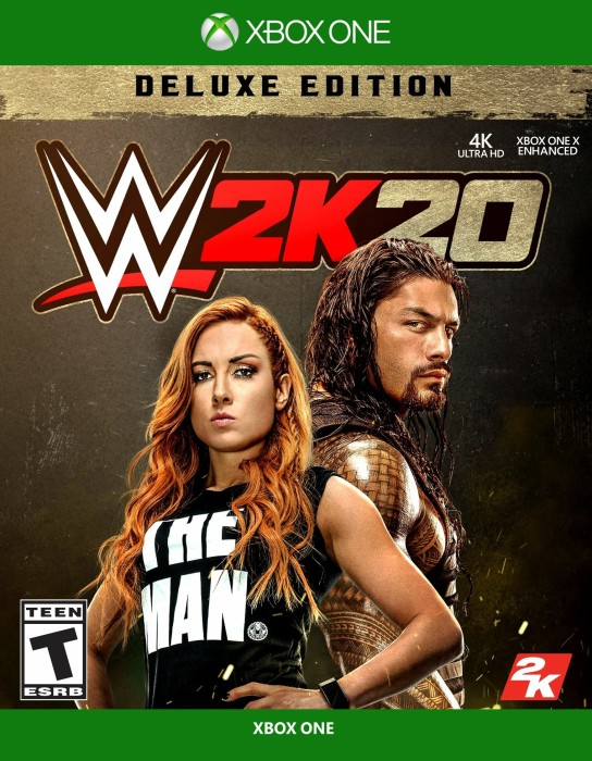 WWE 2k20 - Deluxe Edition (Xbox One)