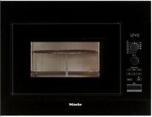 Miele M 8261-2 microwave with grill obsidian black