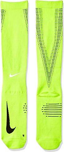 c9e98a22d213e Nike elite Lightweight Compression Over-The-Calf running socks  volt/black/reflect silver (SX5190-702)