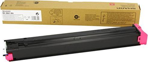 Sharp MX-36GTMA Toner magenta -- via Amazon Partnerprogramm