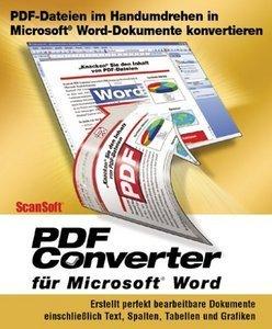 Nuance: PDF Converter 1.0 (englisch) (PC)