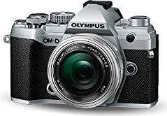 Olympus OM-D E-M5 Mark III silber mit Objektiv M.Zuiko digital ED 14-42mm 3.5-5.6 EZ (V207090SE030)