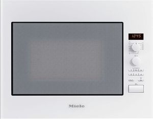 Miele M 8261-2 microwave with grill brilliant white