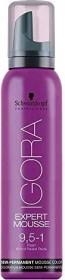 Schwarzkopf Igora Expert Mousse hair dye 9.5/1 platinum blonde cendre, 100ml