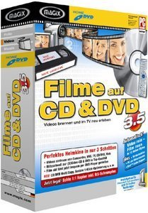 Magix: Filmy na CD & DVD 3.5 (PC)