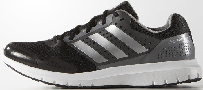 factory price c2379 27e6f adidas Duramo 7 core blacksilver metallicsolid grey (Herren) (B33550