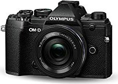Olympus OM-D E-M5 Mark III schwarz mit Objektiv M.Zuiko digital ED 14-42mm 3.5-5.6 EZ (V207090BE030)