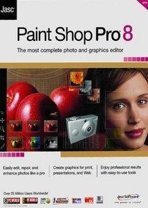 Corel/Jasc: Paint Shop Pro 8.0, EDU (English) (PC)