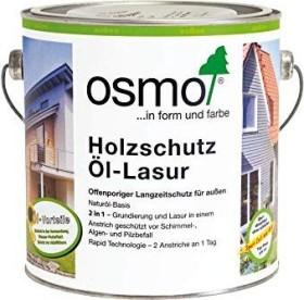 Osmo Holzschutz Öl-Lasur 701 außen Holzschutzmittel farblos, 2.5l