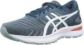 Asics Gel-Nimbus 22 light steel/magnetic blue (Herren) (1011A680-404)