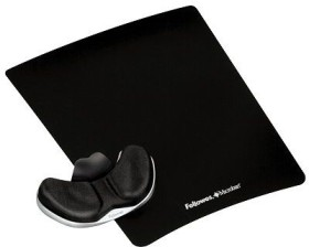 Fellowes Health-V mousepad with palm rest black (5881401)