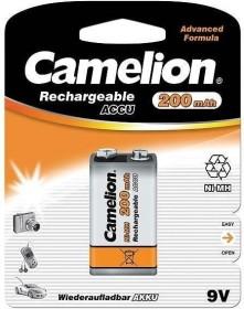 Camelion Rechargeable ACCU 9V-Block NiMH 200mAh (NH-9V200BP1)