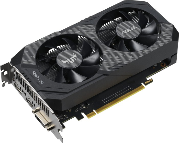 ASUS TUF GeForce GTX 1650 OC, TUF-GTX1650-O4G-GAMING, 4GB GDDR5, DVI, HDMI, DP (90YV0CV6-M0NA00)