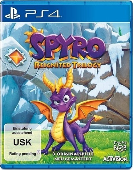 spyro reignited trilogy englisch ps4 ab 0 2019. Black Bedroom Furniture Sets. Home Design Ideas