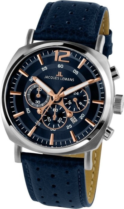 Jacques Lemans Lugano 1-1645I -- via Amazon Partnerprogramm