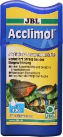 JBL Acclimol Wasseraufbereiter für Süßwasser-Aquarien zur Eingewöhnung von Fischen und Wirbellosen, 100ml (2307100)