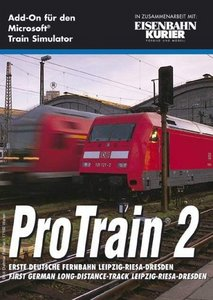 Microsoft Train Simulator - Pro Train 2: Erste Deutsche Fernbahn Leipzig-Riesa-Dresden (Add-on) (niemiecki) (PC)