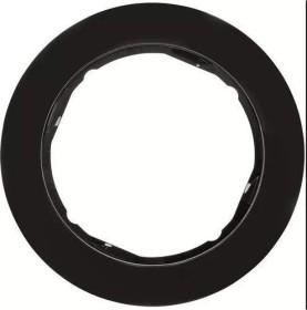 Berker Serie R.classic Rahmen 1fach, schwarz (10112045)