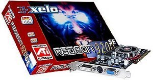 Xelo Radeon 9200SE, 128MB DDR, DVI, TV-out, AGP