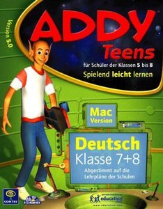 Coktel Addy Deutsch 5.0 Klasse 7+8 (MAC)
