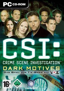 CSI 2 - Dark Motives (German) (PC)