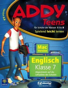 Coktel Addy English 5.0 class 7 (German) (MAC)