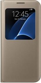Samsung S-View Cover für Galaxy S7 Edge gold (EF-CG935PFEGWW)