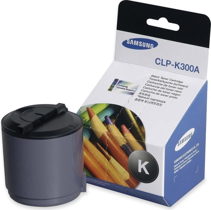 Samsung CLP-K300A Toner schwarz -- via Amazon Partnerprogramm