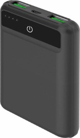 Celly Powerbank Pocket Size 5000 Feeling schwarz (PBPOCKET5000BK)