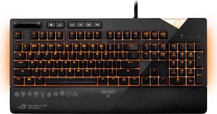 ASUS ROG Strix Flare - Call of Duty - Black Ops 4 Edition, MX RGB BROWN, USB, DE (90MP00M1-B0DA02)