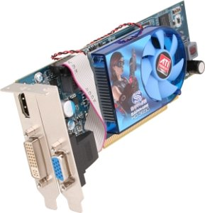 Sapphire Radeon HD 3650, 512MB DDR2, DVI, HDMI, low profile, bulk/lite retail (11127-33-10/-20R)