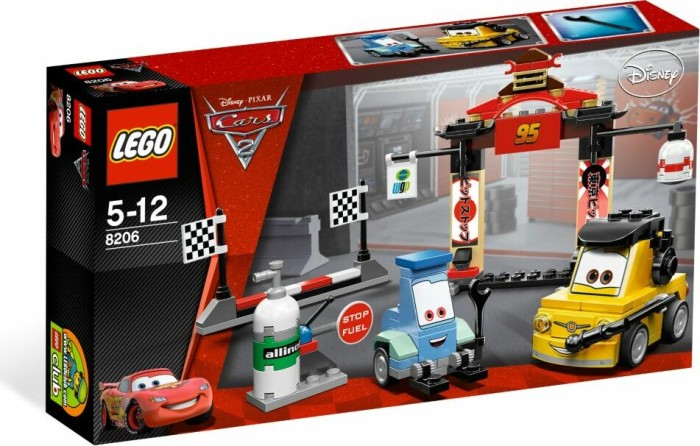 LEGO Cars - Boxenstopp in Tokio (8206) -- via Amazon Partnerprogramm