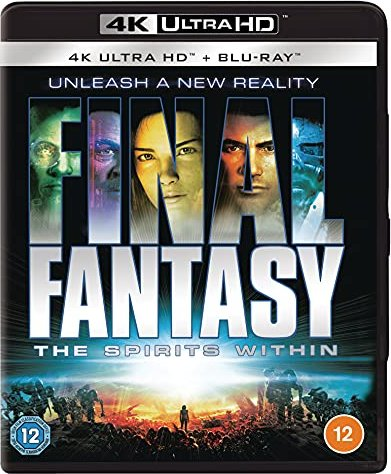 Final Fantasy - The Spirits Within (Blu-ray) (UK) -- via Amazon Partnerprogramm