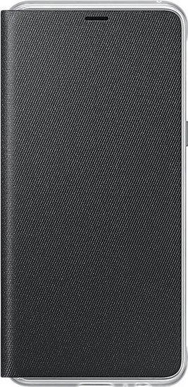 Samsung EF-FA530PB Neon Flip Cover für Galaxy A8 (2018) schwarz