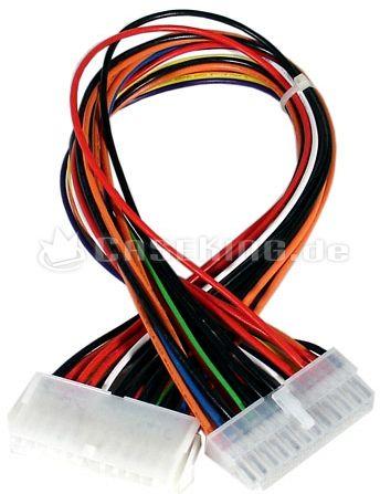 Netzteilverlängerungskabel 20-Pin ATX (verschiedene Längen) -- © caseking.de