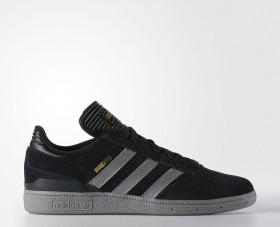 adidas Busenitz core black/solid grey/gold metallic (Herren) (F37342)